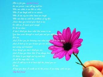 best best friend poem