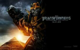 Bumble Bee Autobot in Transformers Revenge of the Fallen wallpaper