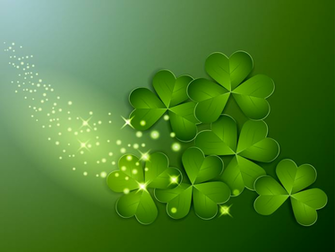 St Patricks Day Clover Wallpaper Gallery Yopriceville   High