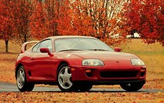 Toyota Supra Twin  Twinturbo Non Turbo 2JZ   Widescreen