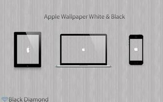 Black And White Apple Wallpaper