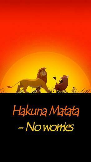 Hakuna Matata Quotes Pinterest
