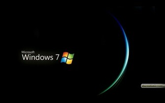 Windows 7 Black and Dark HD Wallpapers Wallpapers pictures images