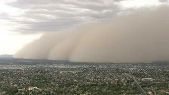 Dust Storm Blows Through Phoenix   NBC News