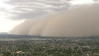 Dust Storm Blows Through Phoenix   NBC News