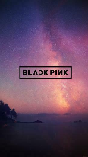 BlackPink Logo Phone Wallpaper   Album on Imgur