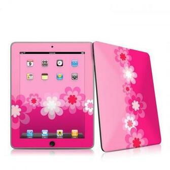iPad iPad 2010 1st Gen Retro Pink Flowers Apple iPad 1st Gen Skin
