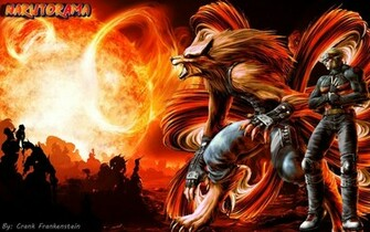Epic Naruto and Kurama fanart