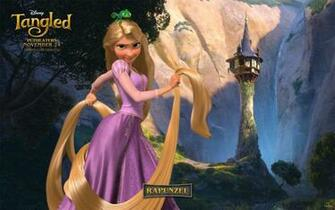 tangled background rapunzel desktop beautiful disneys disney