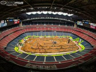 photo 2 of 20 reliant stadium hosted monster energy ama supercross in