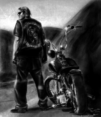 Jax Teller by fateastray