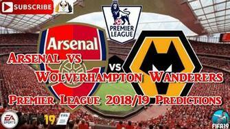 Arsenal Vs Wolverhampton Wanderers   Arsenal Vs Brighton 2017