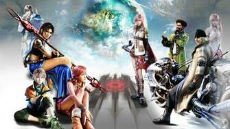 FFXIII Wallpaper  everyone by thuytranffx