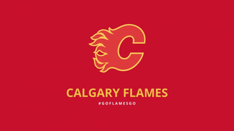 Minimalist Calgary Flames wallpaper by lfiore