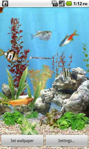 Download Aquarium Live Wallpaper Download For your android
