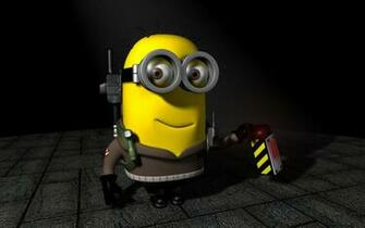 ghostbuster Minion despicable me 2 wallpapers desktop backgrounds