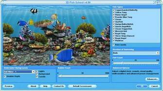 Tropical fish school wallpaper Wallpaper Wide HD