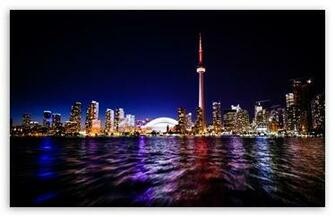 Downtown Toronto HD wallpaper for Standard 43 54 Fullscreen UXGA XGA