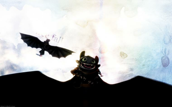 Toothless   HQ wallpaper   How to Train Your Dragon