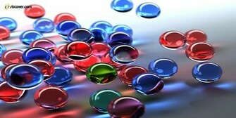 3d graphics color bubbles wallpaper normal twitter cover photos