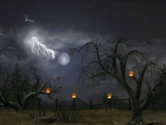 3d Animated Halloween Desktop Wallpaper Foto Artis   Candydoll