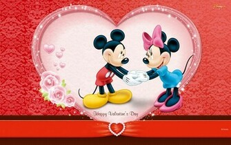 Disney Happy Valentiines Day Desktop Wallpaper Freejpg
