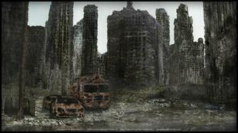Destroyed city wallpaper   747029