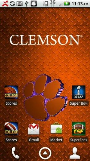 Clemson Live Wallpaper HD Review Android App Playboard