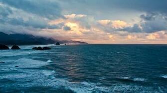 Ocean Sunset Desktop Wallpaper   Viewing Gallery