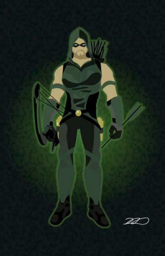 Arrow Cw Iphone Wallpaper Green arrow art print