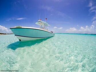 Download wallpaper yacht xhuma Islands Bahamas caribbean sea