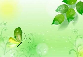 Spring Green Background Vector Illustration Vector Graphics