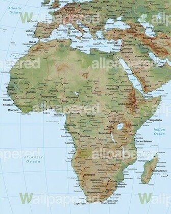 Home Map of Africa