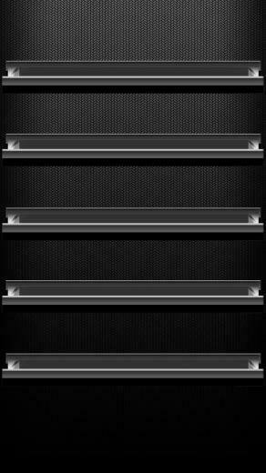Black Shelf Iphone Wallpaper picture