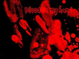 Blood Hand Wallpaper Blood Hand Desktop Background   Do It