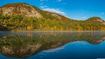 Echo Lake White Mountains New Hampshire 4K HD Desktop