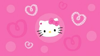 Hello Kitty pink desktop wallpaper by OMGimCARRIE