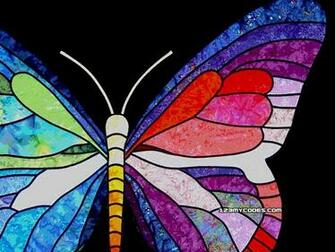 Colorful Butterfly Backgrounds 2 Widescreen Wallpaper