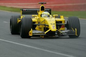 Jordan Ej12 F1 Jordan Formula One Dhl Jordan Honda   Stock