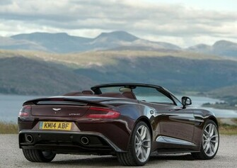 Aston introduce a new car Aston Martin Vanquish Volante for 2014