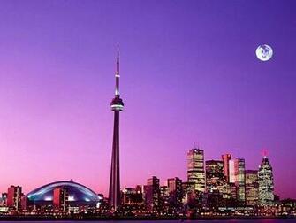 Beautiful City at Night   Desktop Wallpaper of Toronto Canada 33