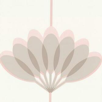 Wallpaper Caselio Caselio Kira Wallpaper Pink Grey Beige