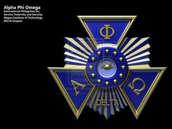 Alpha Phi Omega Seal by blackseraphim15
