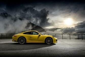 Porsche 911 Carrera 4S 4k Ultra HD Wallpaper Background Image