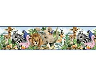 Jungle Wallpaper Border Cake Ideas and Designs
