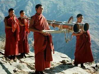 Miscellaneous Tibetan Monks desktop wallpaper nr 14935