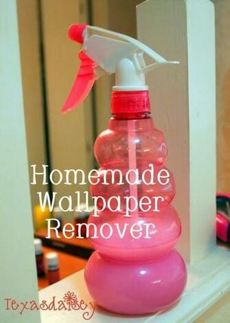 Homemade Wallpaper Remover Recipe Baby Homemade wallpaper