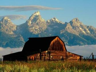 Mountains Cabin Desktop Wallpaper 1024x768 pixel Nature HD Wallpaper