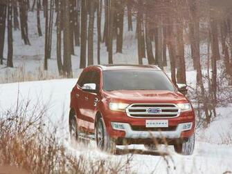 2016 Ford Endeavour Facelift Ford Cars Review 2017