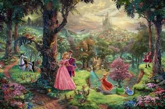 Painter Thomas Kinkade Dies at Age 54 The Disney Blog